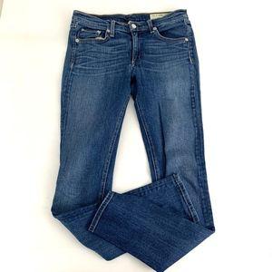 Rag & Bone Mid Rise Skinny Jeans Women Size 28